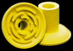 Rubber Cup 58 Yellow